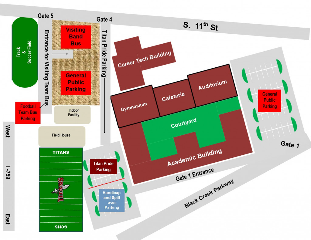 Gadsden State Campus Map.Gadsden City Team Home Gadsden City Titans Sports