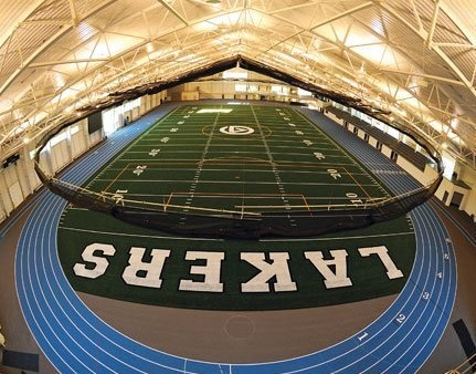grand valley state university indoor track meet high school