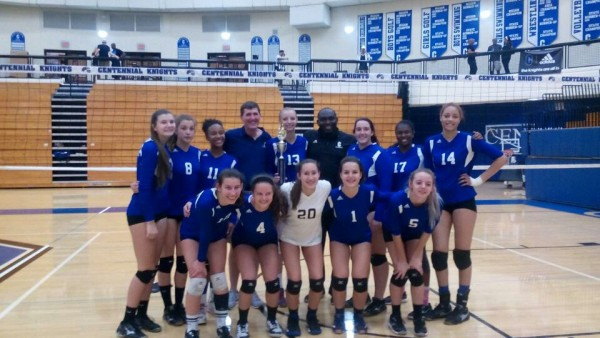 Centennial Varsity Volleyball Wins CHS Open Tournament ...