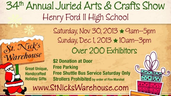 Henry Ford High School Craft Show
