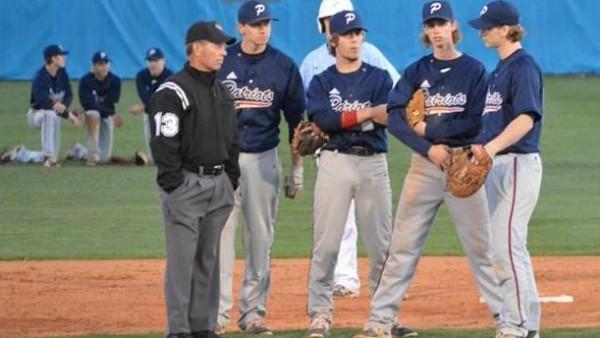 Powdersville High School Varsity Baseball beat Christ ...