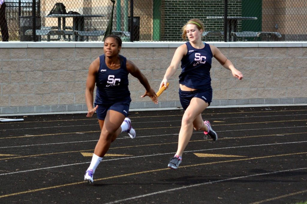 lady rockers track meet event