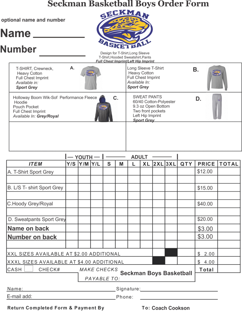 order-form-shs-basketball-boys2014 Team Clothing Order Form on excel purchase, for custom, template pivottable excel, template microsoft, template blank,