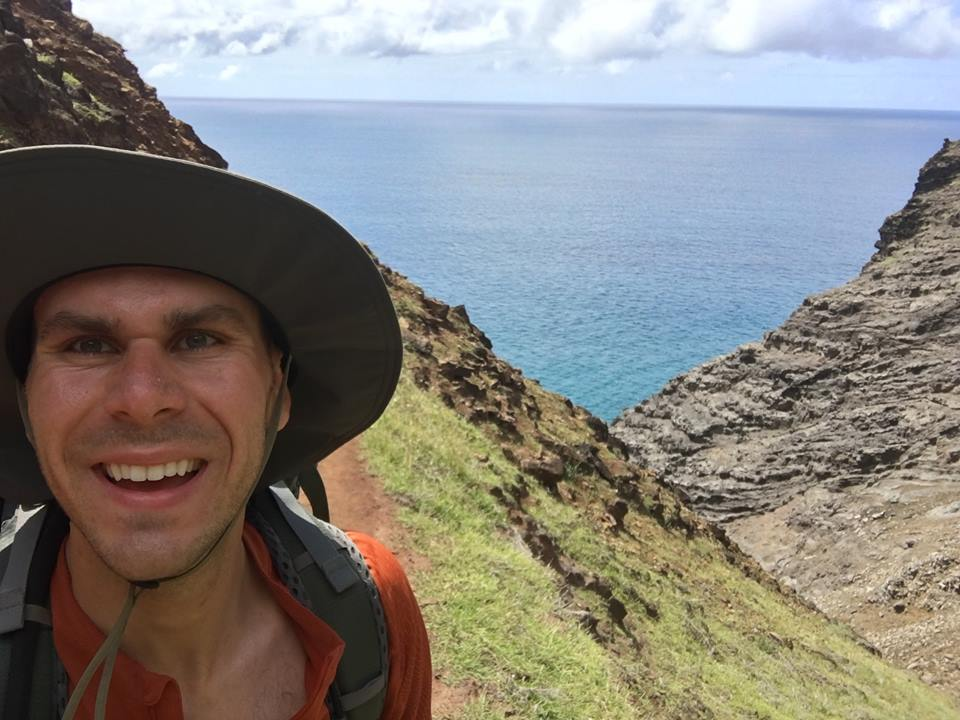 Blake in Hawaii