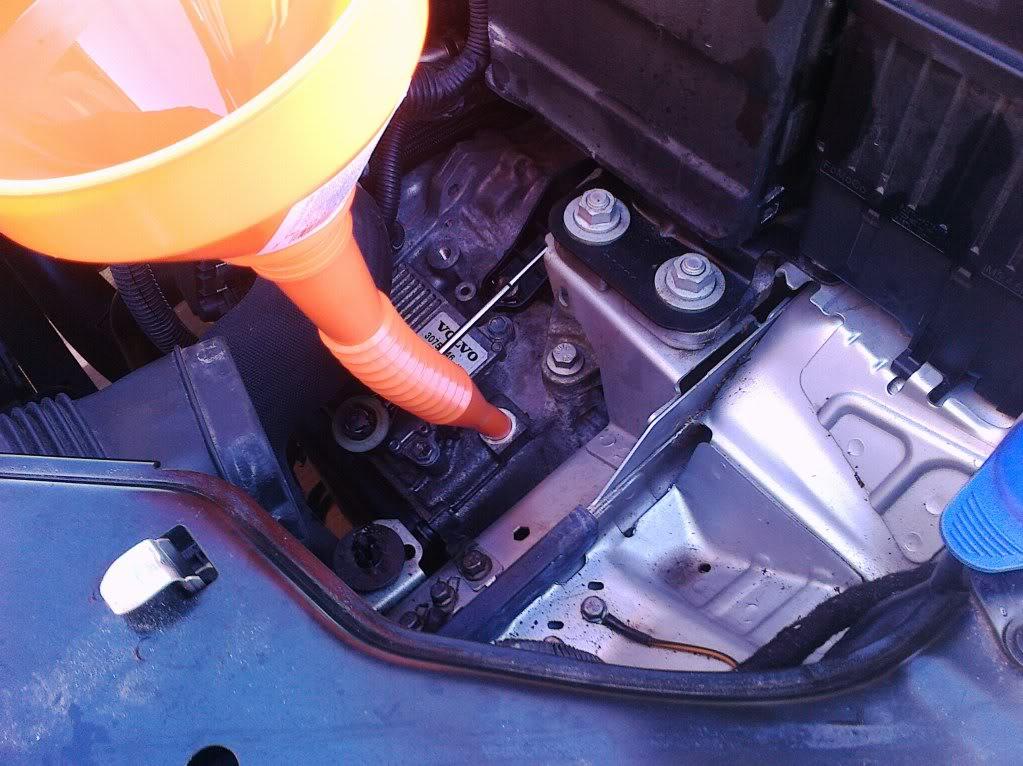 s80 transmission fluid