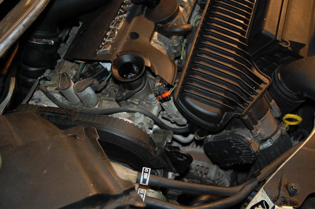 volvo engine stutter