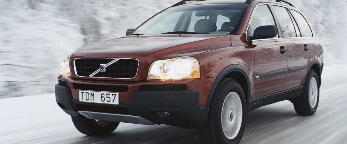 Volvo XC90 First Generation Winter Driving