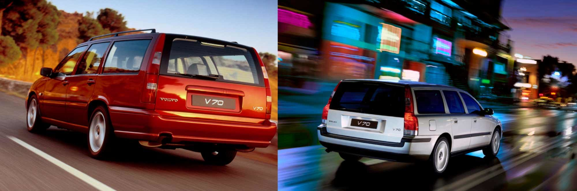 Volvo V70 P80 And P2