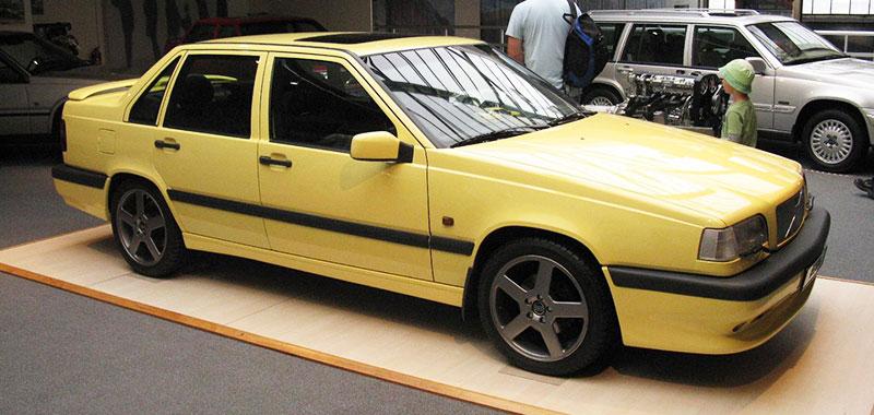 Cream Yellow 1995 T-5R, Volvo paint code 607