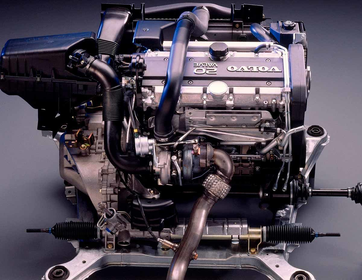 Volvo 850 5 Cyl 2 3 L - The 5-cylinder fits much better in the compact transverse engine compartments of modern cars than an inline-6, but provides more power than an inline-4.