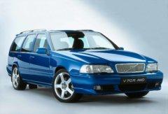 Laser Blue Volvo V70 R Awd