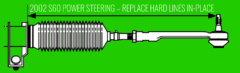 2002 S60 Power Steering Replace Hard Lines -