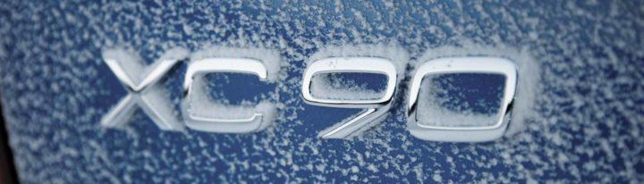 2020 Volvo XC90 badge