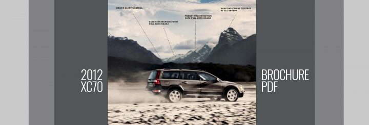 2012 XC70 Brochure -