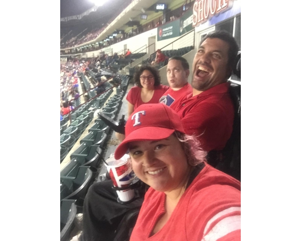 Globe Life Park Tour for Individuals with disabilities