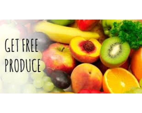 Free Produce Givaway