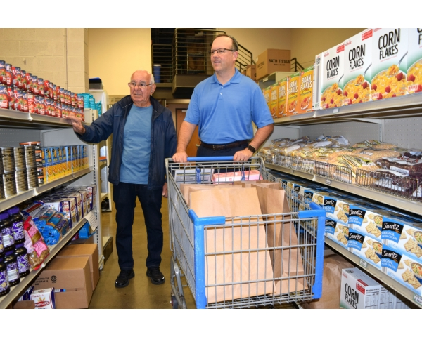 Shop with Food Pantry Clients