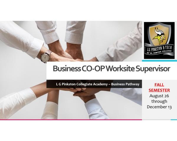 Business CO-OP Worksite Supervisor