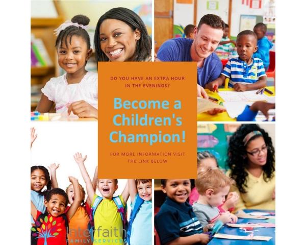 Become a Children's Champion