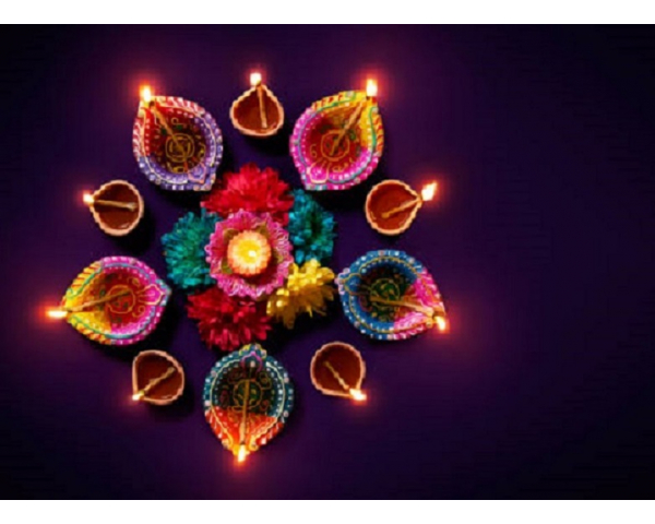 Preparing for the Diwali Festival at the McKinney Public Library