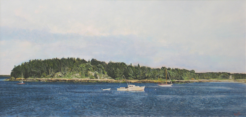 Deer Isle, Maine by Carol Rowan