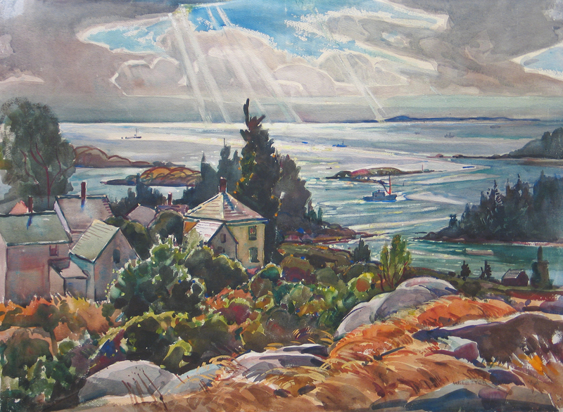 Epic of Vinalhaven, Maine by William Lester Stevens (1888-1969)