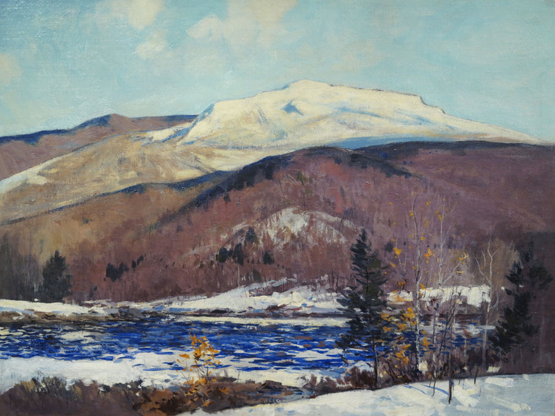Mt. Monadnock, New Hampshire by Charles C. Allen (1886-1950)