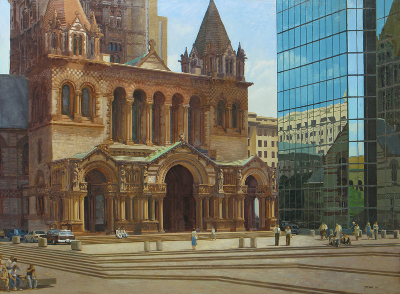 Trinity Church, Boston, Massachusetts by Joel Babb