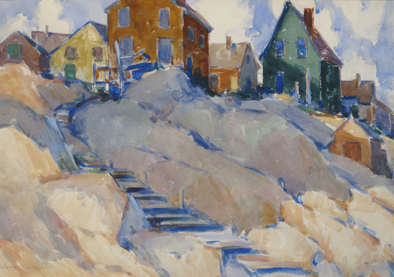 Steps to the Beach by Walter Farndon (1876-1964)