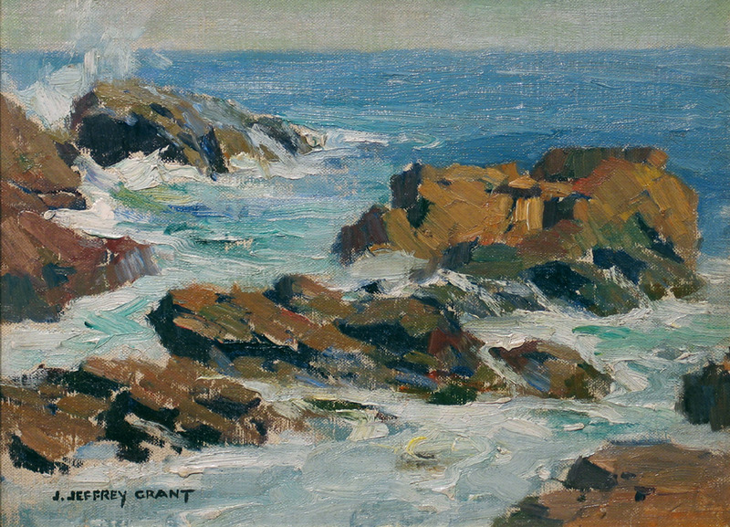 Seascape by James Jeffrey Grant (1883-1960)