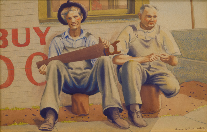 Carpenters' Rest by Clarence Holbrook Carter (1904-2000)