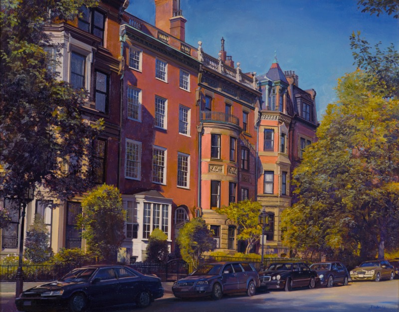 Quiet Afternoon, Back Bay, Boston by Joel Babb