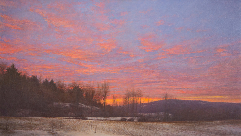 Dawn, Nettleton Hollow by Peter Poskas (b. 1939)
