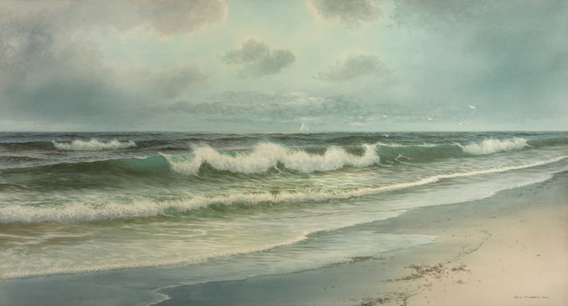 Surf, Long Beach, Rockport by George H Gay (1858-1931)