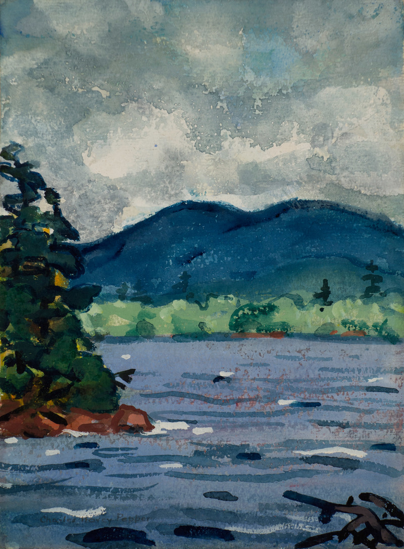 Mountain Lake by Charles Hovey Pepper (1864-1950)
