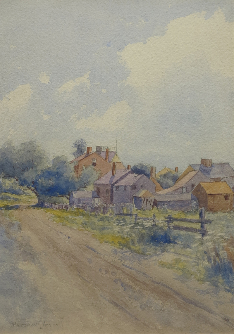 Nantucket Roadway by Marshall Jones (19th C.)