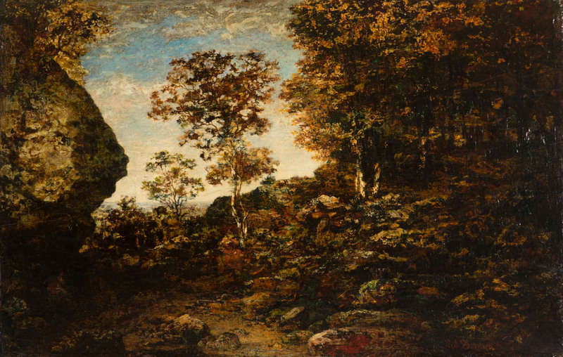Edge of the Forest by Ralph  Albert Blakelock (1847-1919)