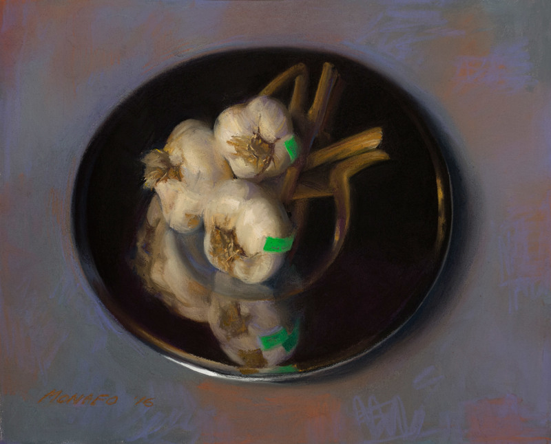 Garlic Reflected by Janet Monafo