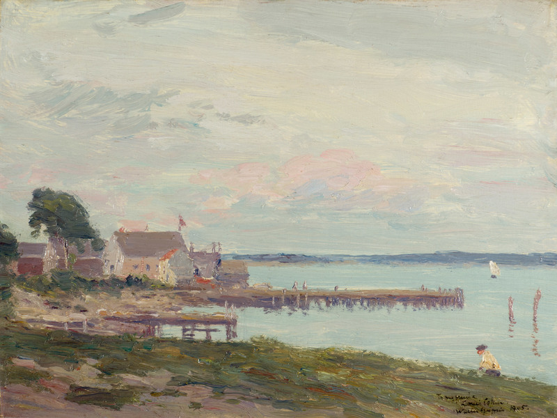 Noank, Connecticut by Walter Griffin (1861-1935)