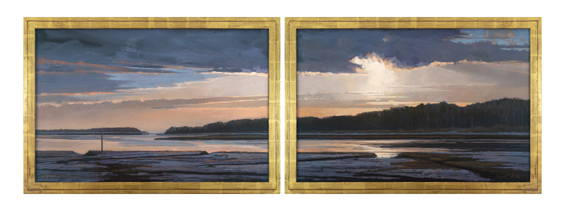Transitions Diptych by Liz Haywood-Sullivan