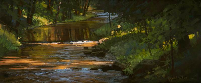 Dappled Creek by Liz Haywood-Sullivan