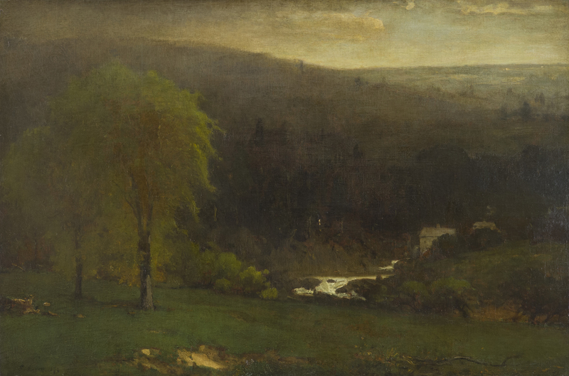 Ramapo Hills by George  Inness (1825-1894)