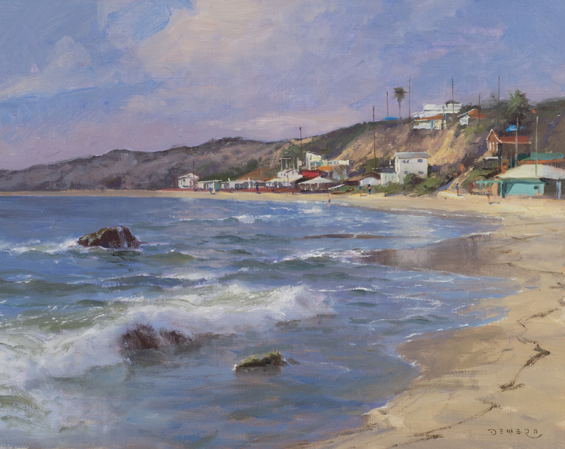 Crystal Cove Rhythms, California by Donald Demers
