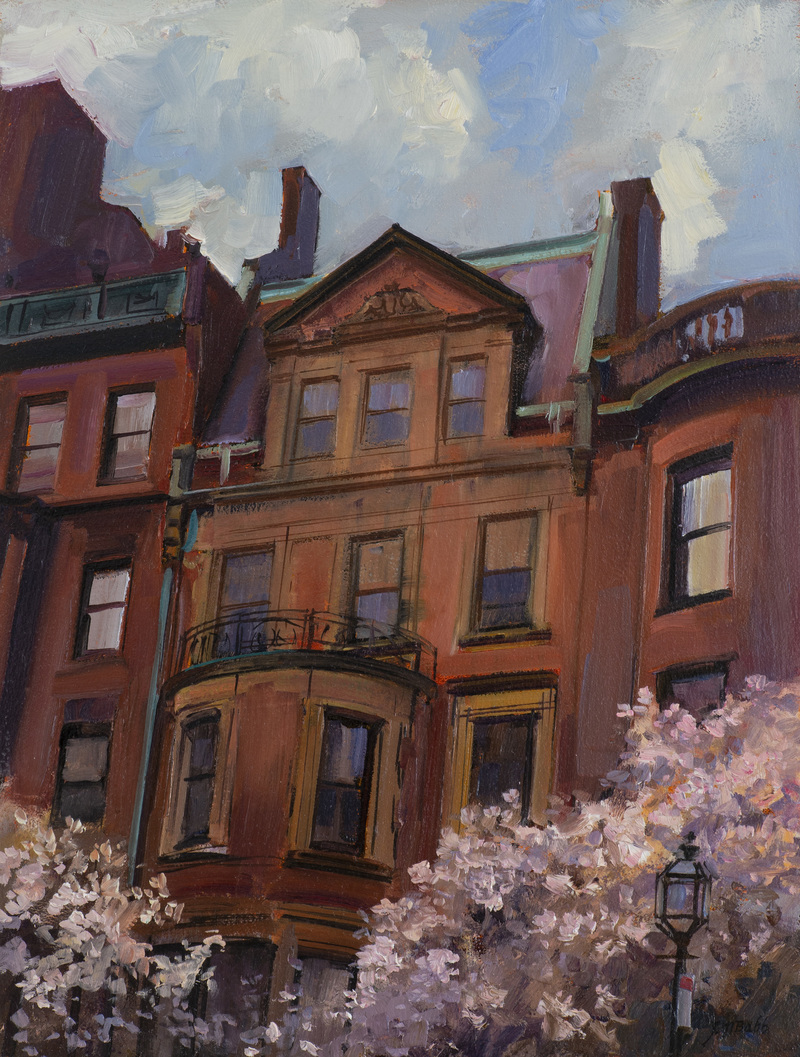 Spring Weather, Back Bay by Joel Babb