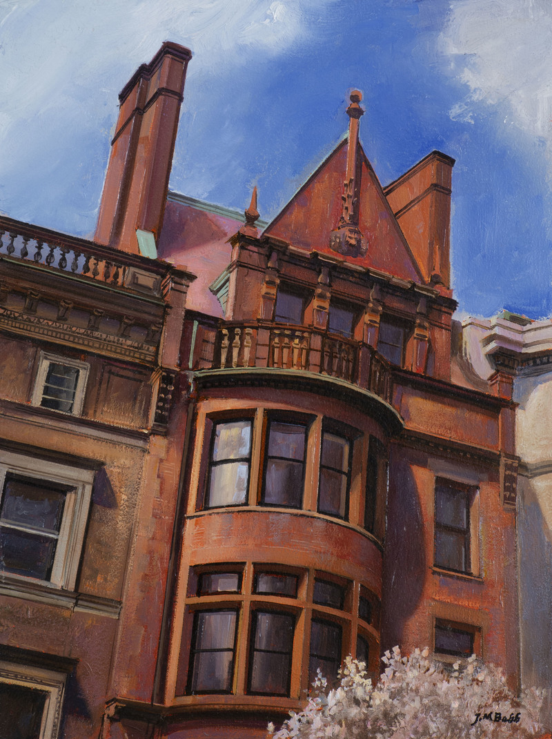 Upstanding Victorian, Back Bay by Joel Babb