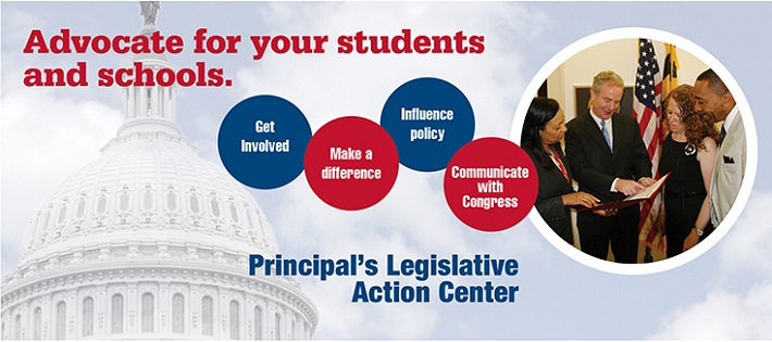 Advocate for your students and schools.
