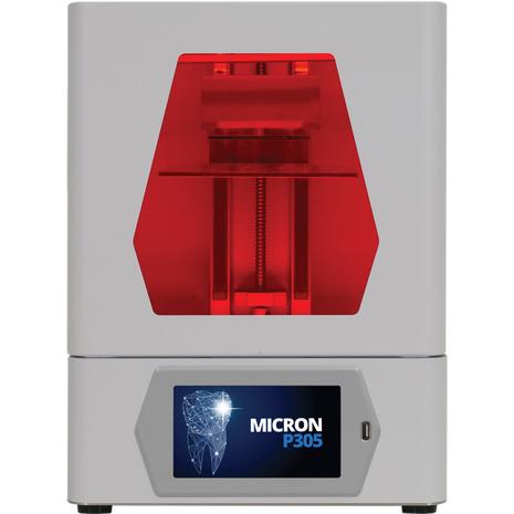 LMTmag | Micron Dental P305 LCD 3D printer