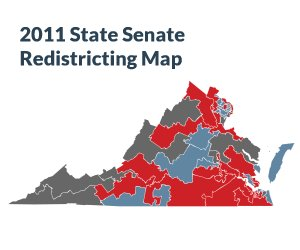 2011 State Senate Redistricting Map