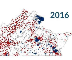 Sharply Divided Precincts
