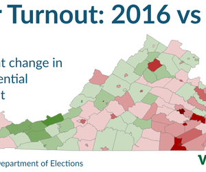 Voter Turnout: 2016 vs. 2012